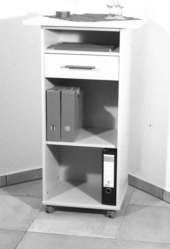 Stehpult Rednerpult weiß - Möbel Kontor 24